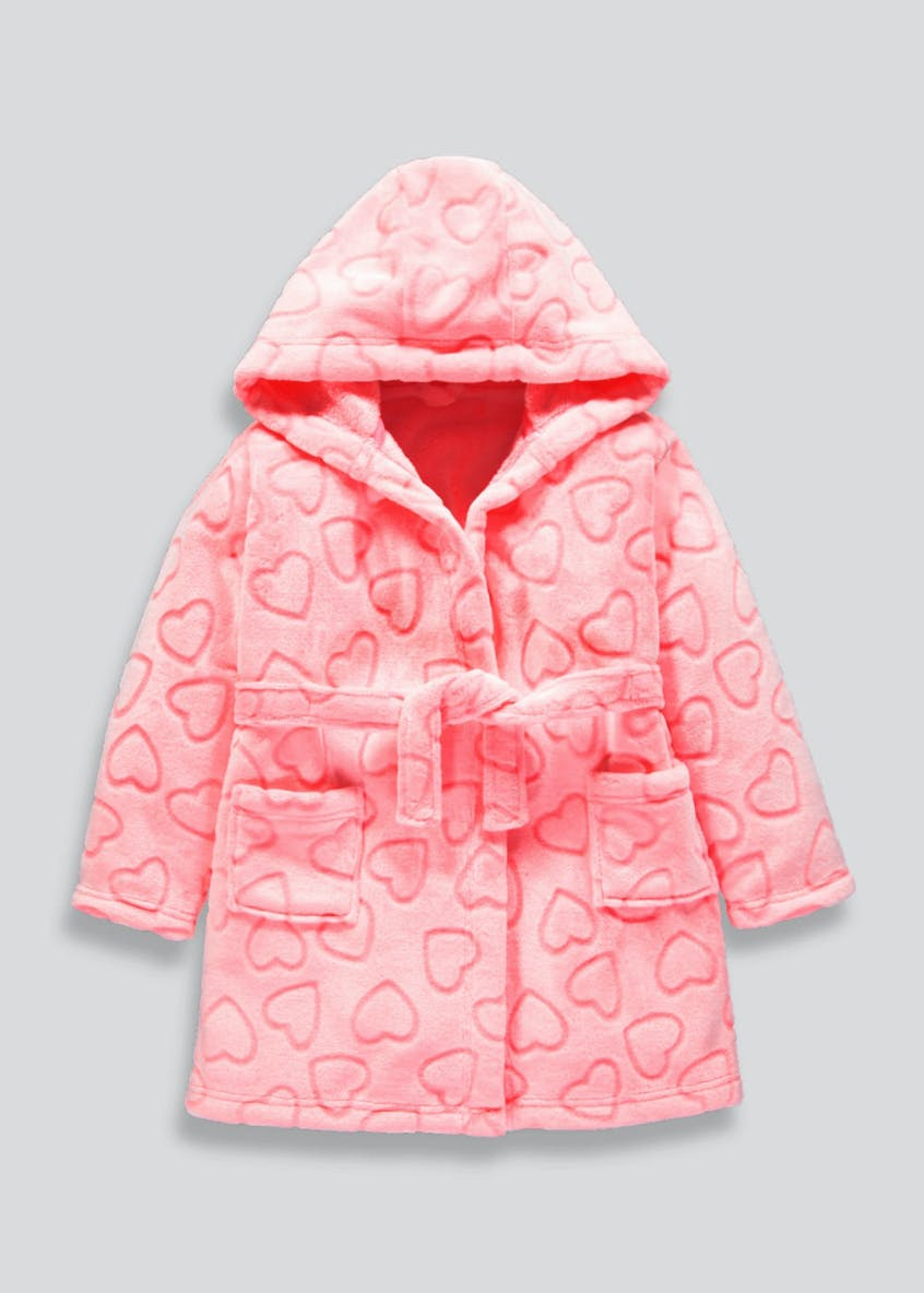Kids Heart Dressing Gown (4-13yrs)