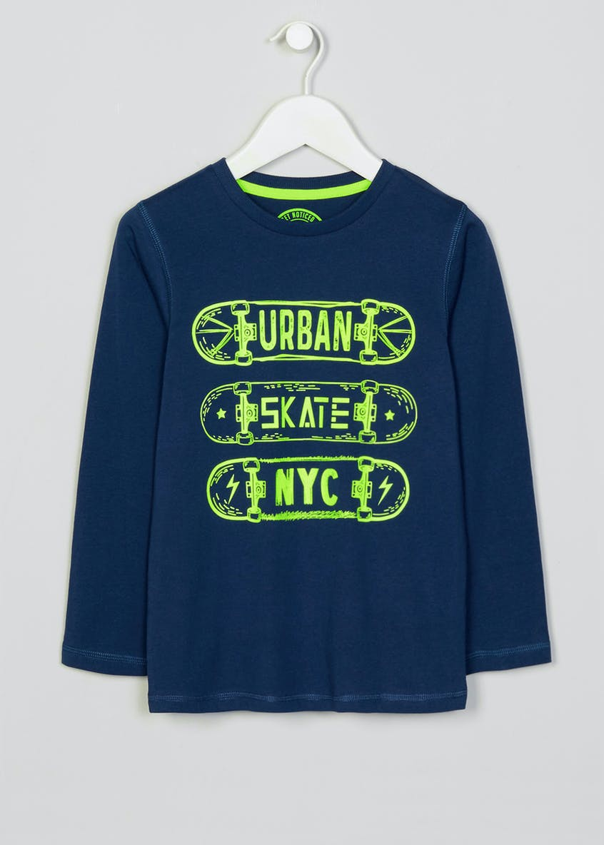 Boys Skate Long Sleeve T-Shirt (4-13yrs)