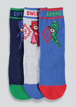 Kids PJ Masks Socks (Younger Kids 6-Older Kids 3)