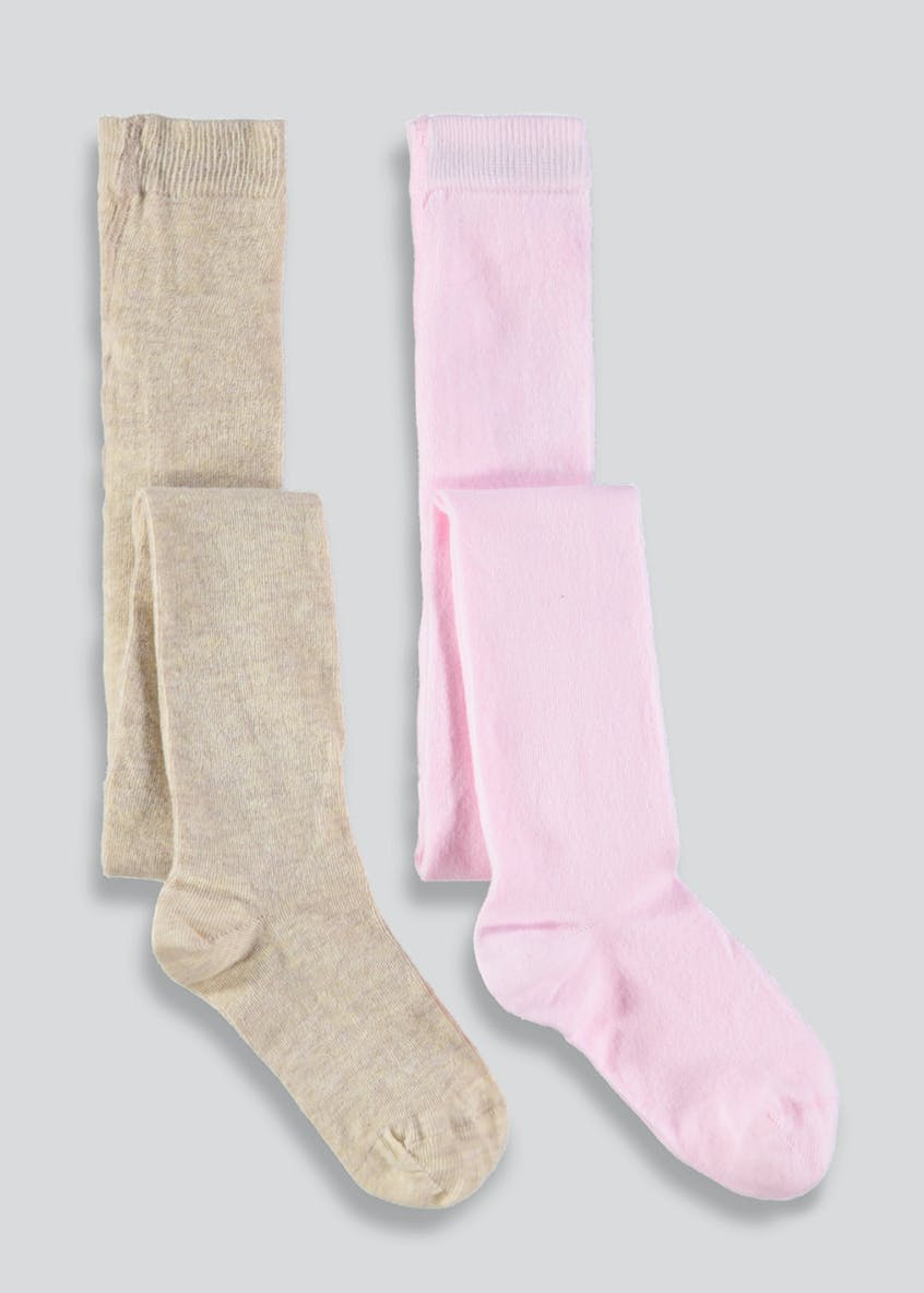Girls 2 Pack Tights (2-11yrs)