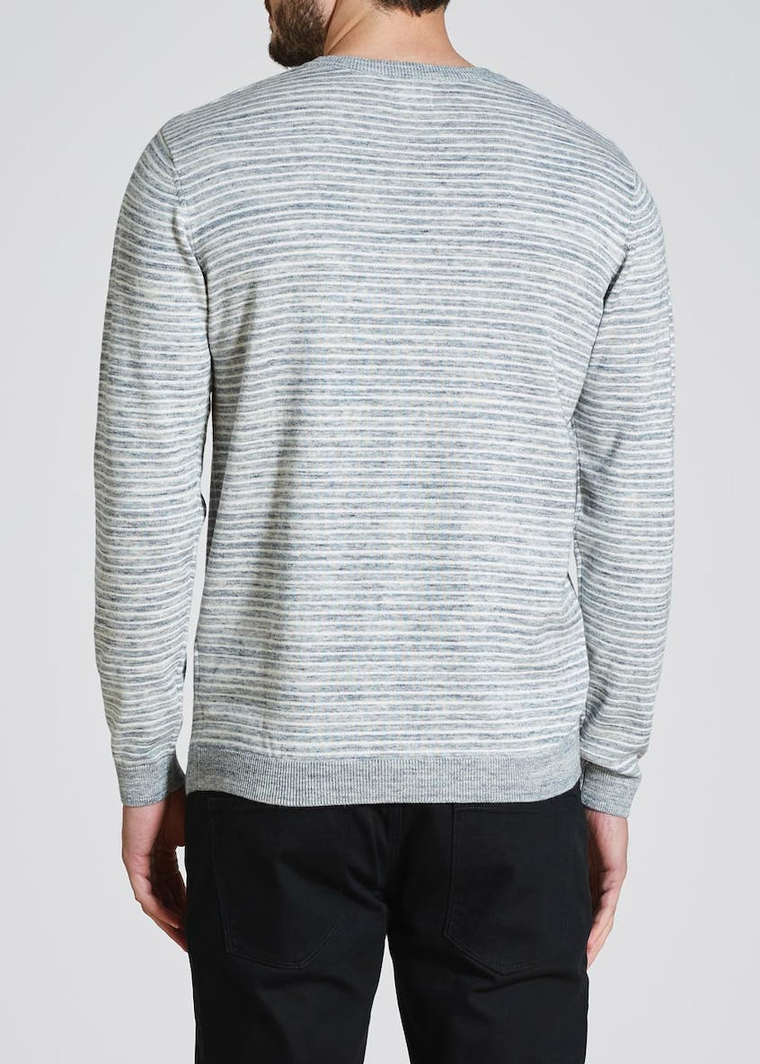 Space Dye Stripe Jumper