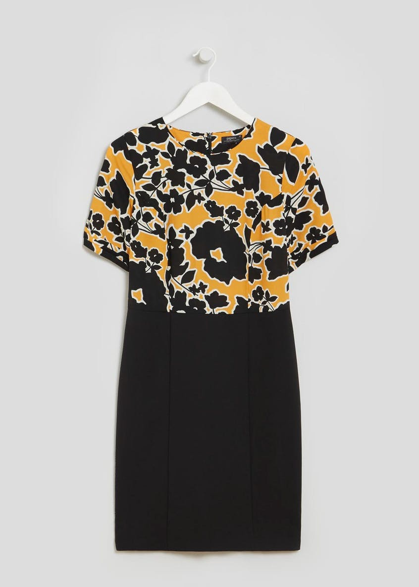 Floral 2 in 1 Pencil Dress