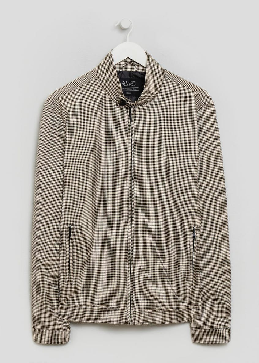 Harrington Puppytooth Jacket