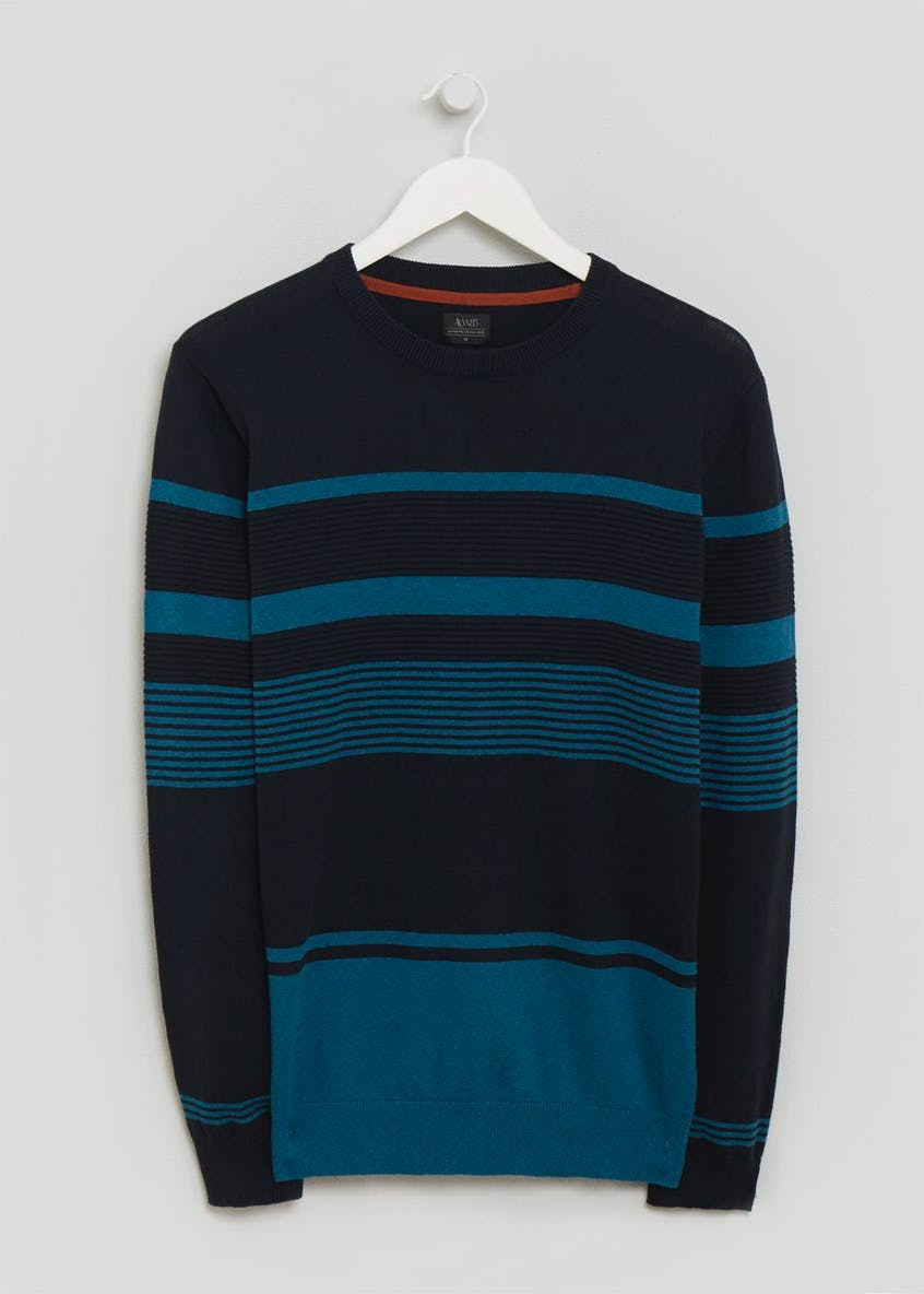 Crew Neck Stripe Jumper