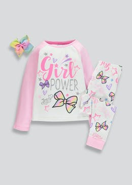 Kids JoJo Siwa Pyjama & Bow Set (6-11yrs)