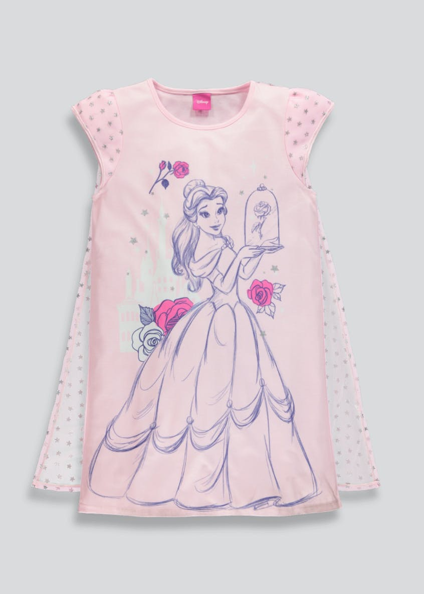 Kids 2 Pack Disney Beauty and the Beast Belle Pyjamas (2-9yrs)