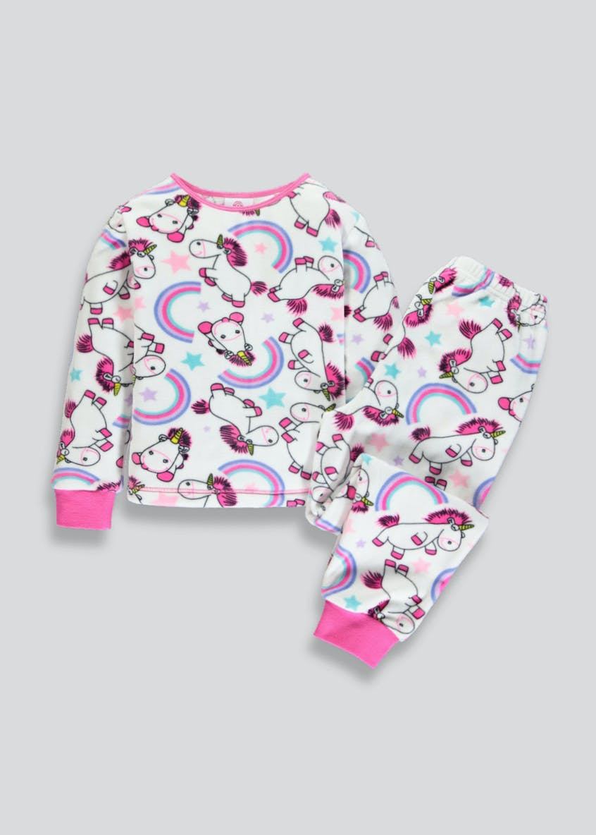 Kids Minions Fluffy the Unicorn Pyjama Set (2-9yrs)
