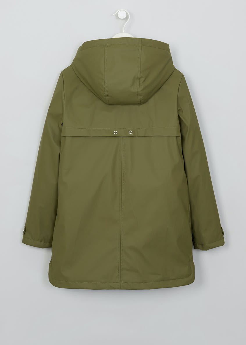 Girls Candy Couture Borg Lined Mac (9-16yrs)