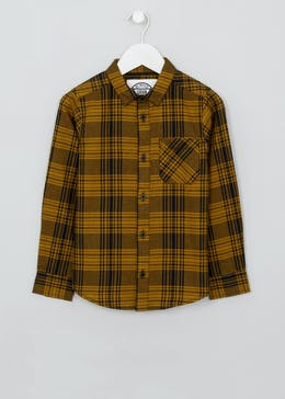 Boys Long Sleeve Check Shirt (4-13yrs)