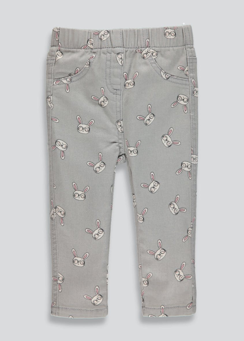 Girls Bunny Jeggings (3mths-6yrs)