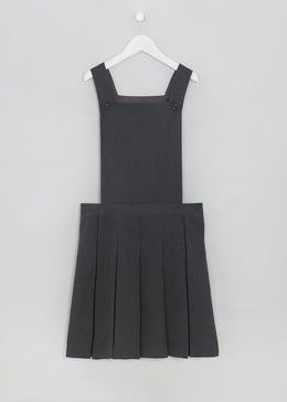Girls Box Pleat School Pinafore (3-16yrs)