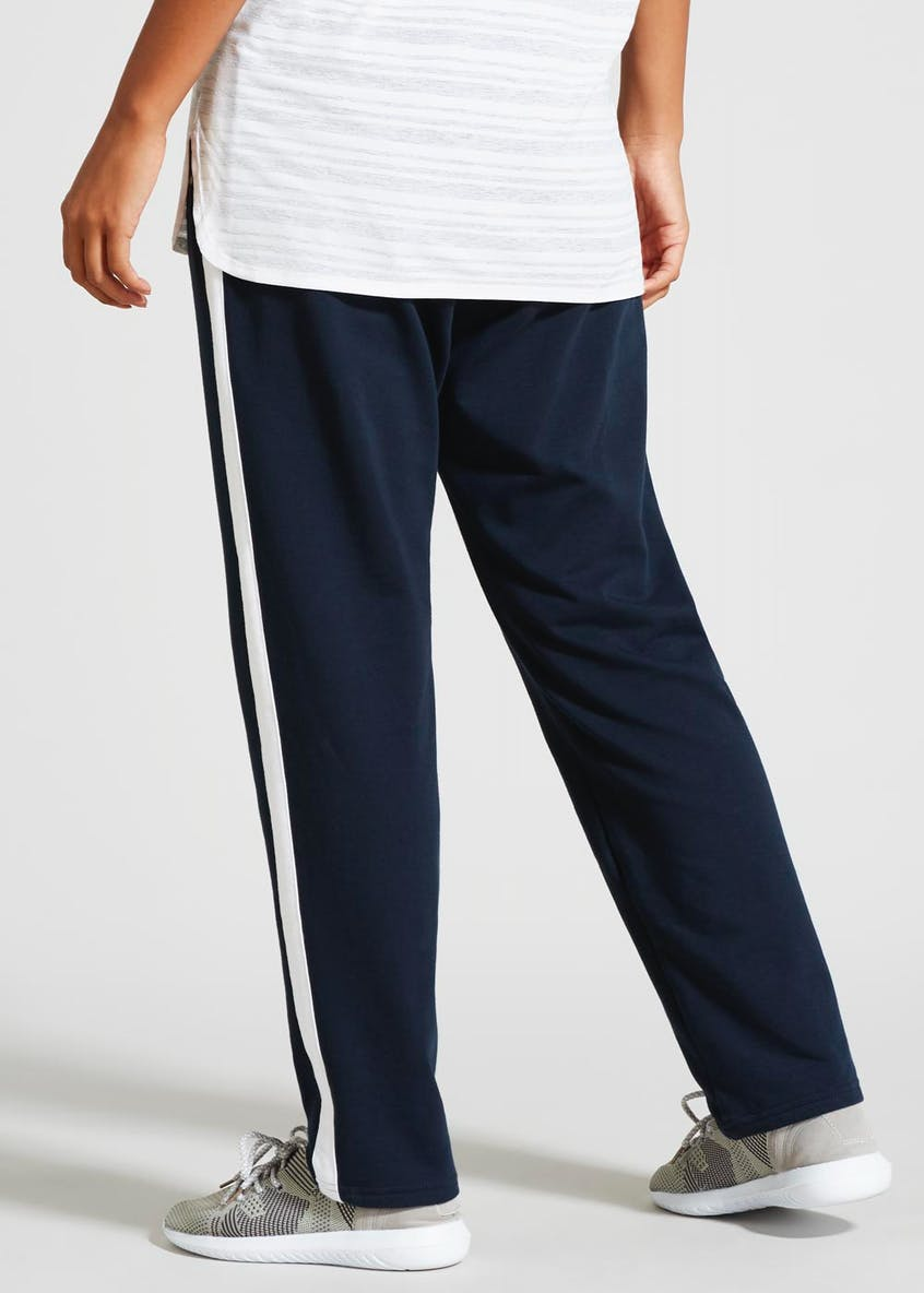 Souluxe Tape Side Straight Leg Jogging Bottoms