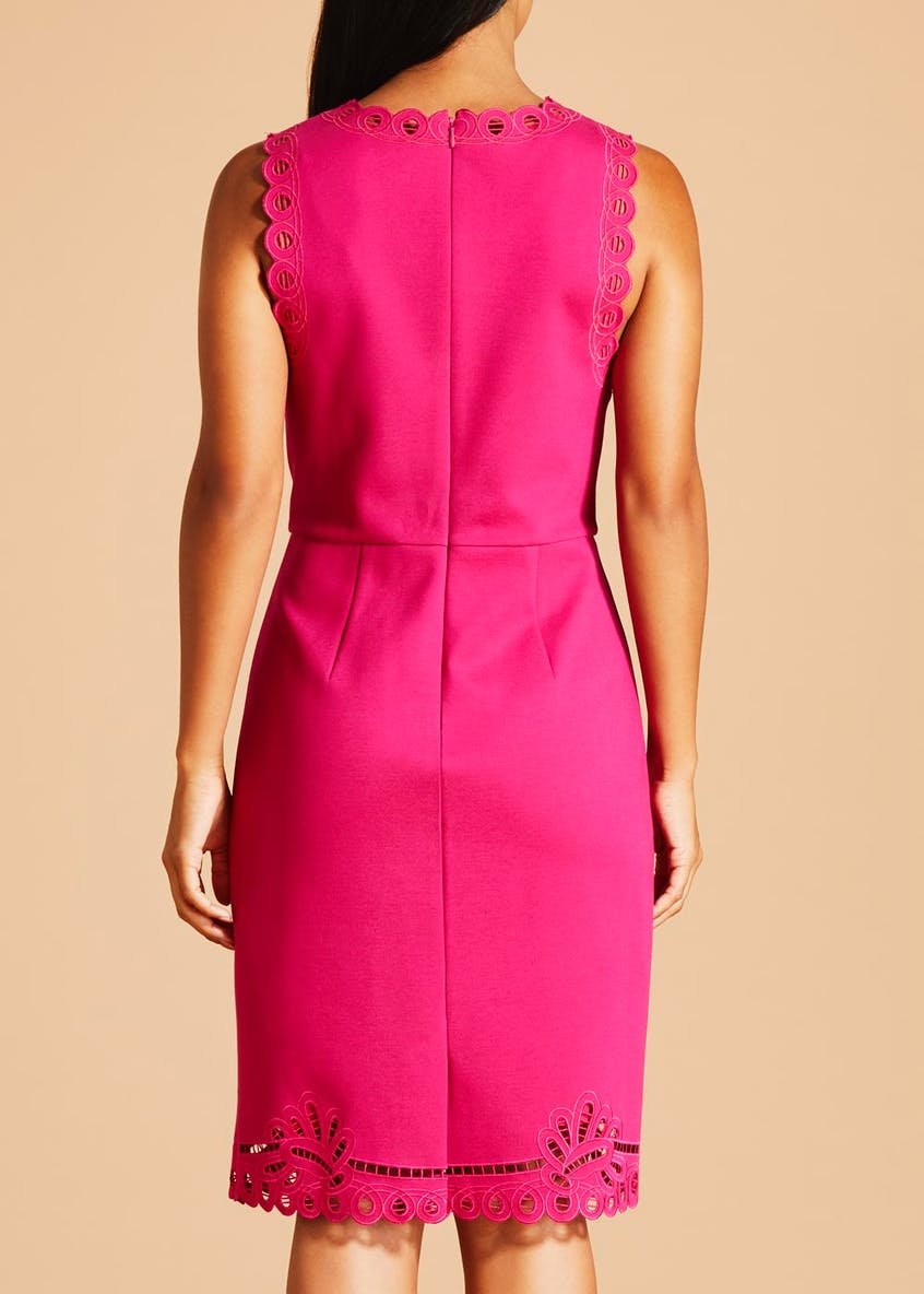 FWM Ponte Pencil Dress - Pink