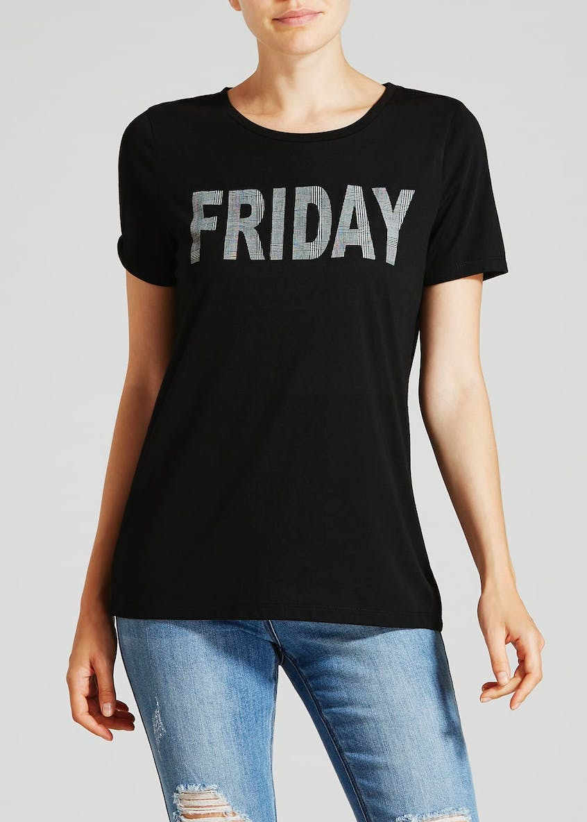 Friday Slogan T-Shirt