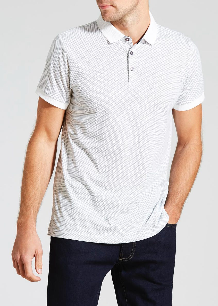 Big & Tall Printed Polo Shirt
