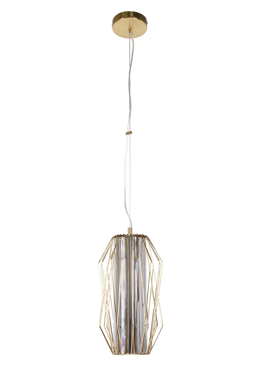 Hector Wire Pendant Light (H140-60cm x W19cm)