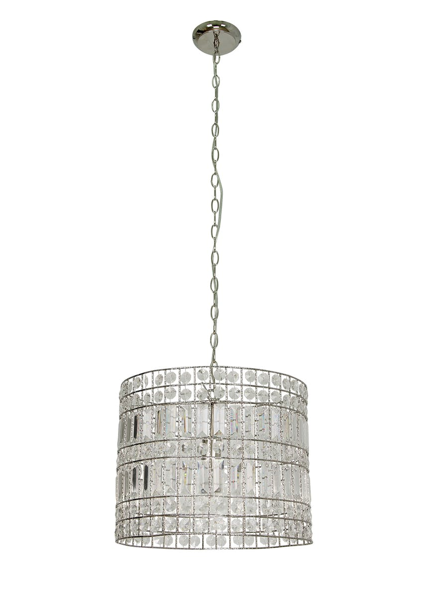 Lara Drum Pendant Light (H117-32cm x W40cm)