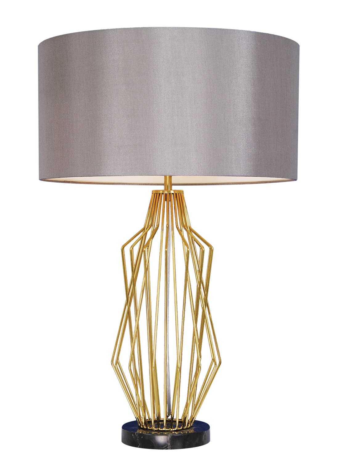 Hector Wire Table Lamp (H65cm x W35cm)