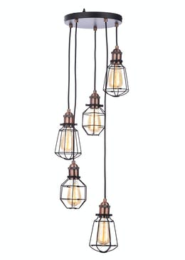 Callisto Caged Cluster Light (H100-50cm x W33cm)