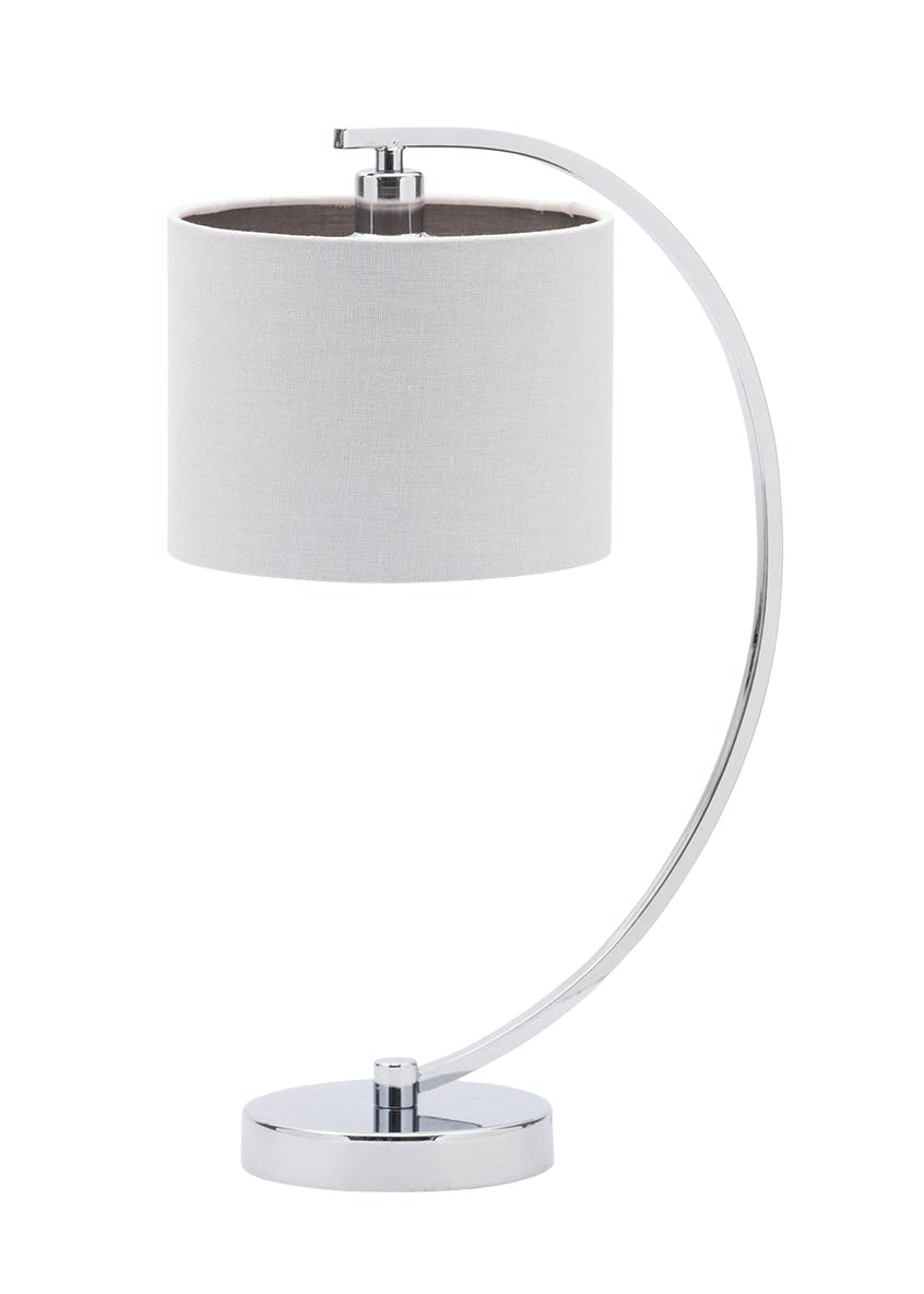 Ellis Curved Table Lamp (H46cm x W20cm)