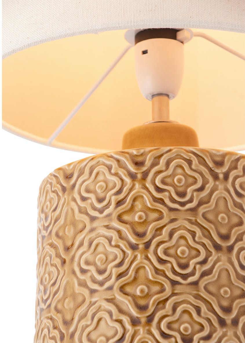 Vivi Ceramic Table Lamp (H38cm x W24cm)