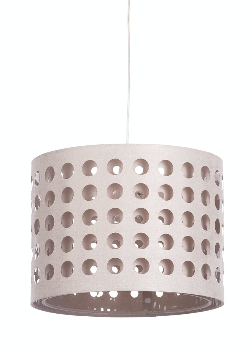 Dotty Drum Easy Fit Lamp Shade (H25cm x W35cm)