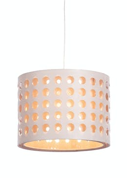 Dotty Drum Easy Fit Lamp Shade H25cm X W35cm