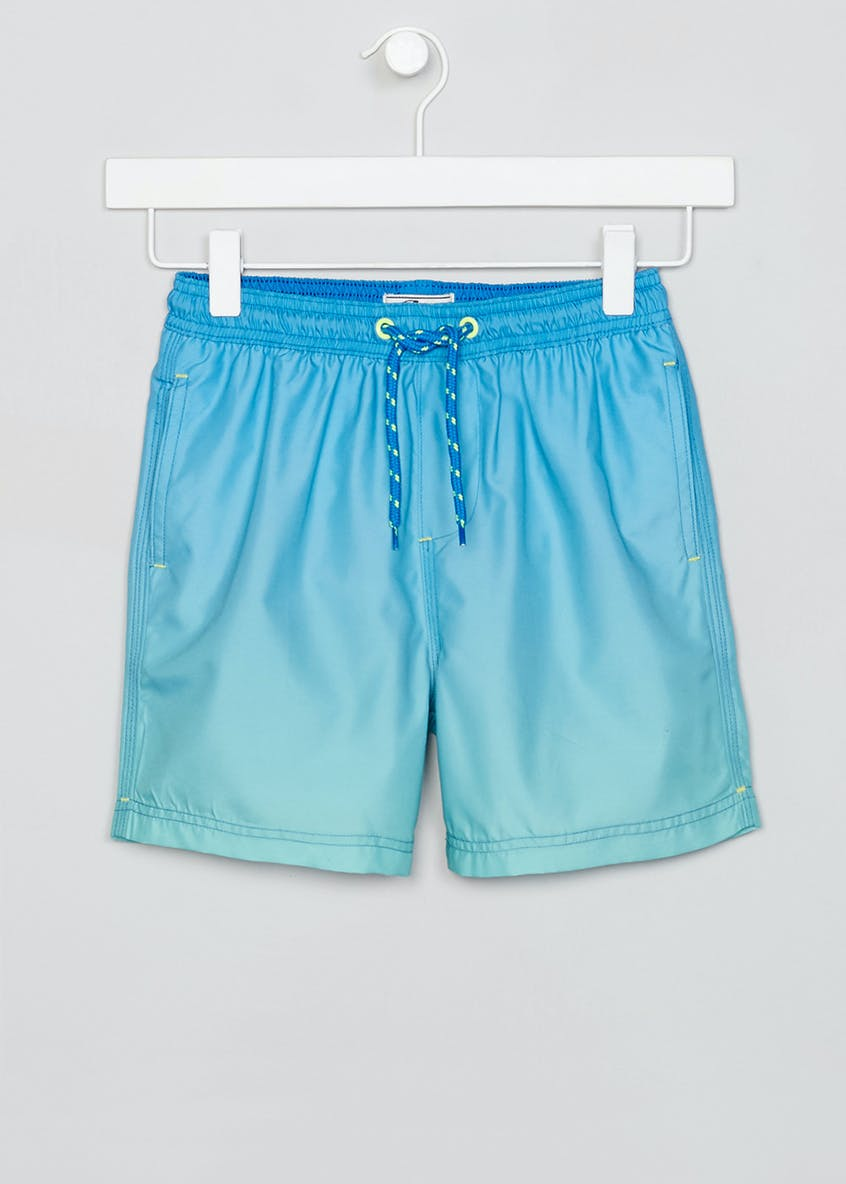 Boys Ombre Swimming Shorts (4-13yrs)