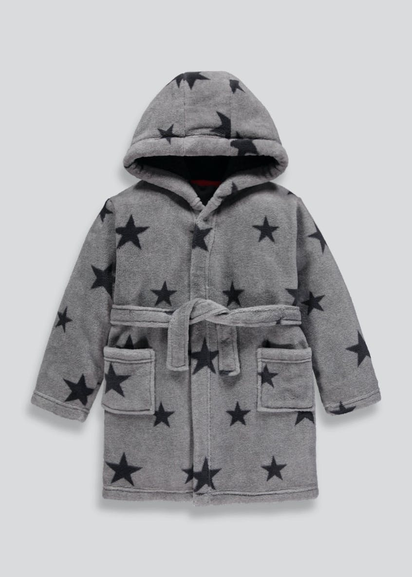 Kids Star Dressing Gown (4-13yrs)