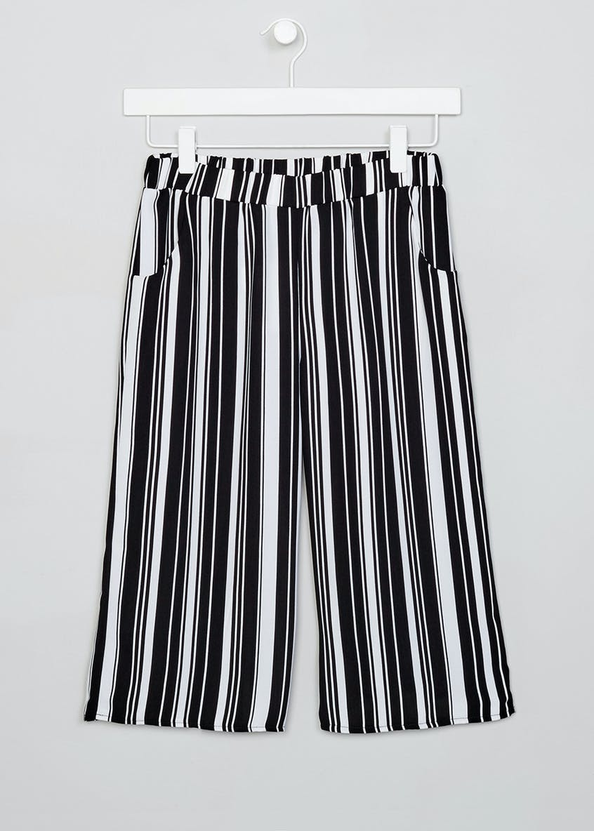 Girls Candy Couture Stripe Culottes (9-16yrs)