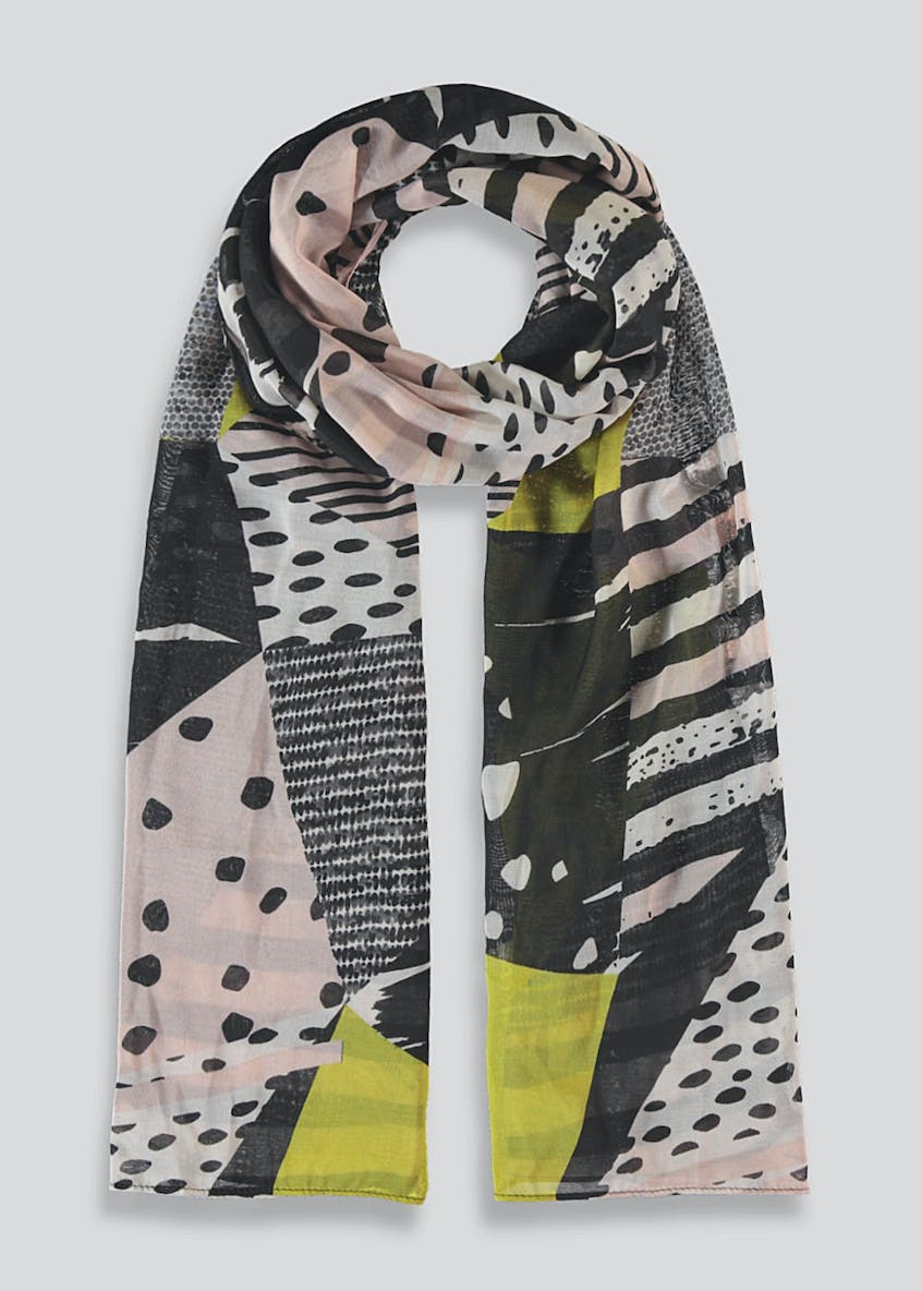 Abstract Woven Scarf