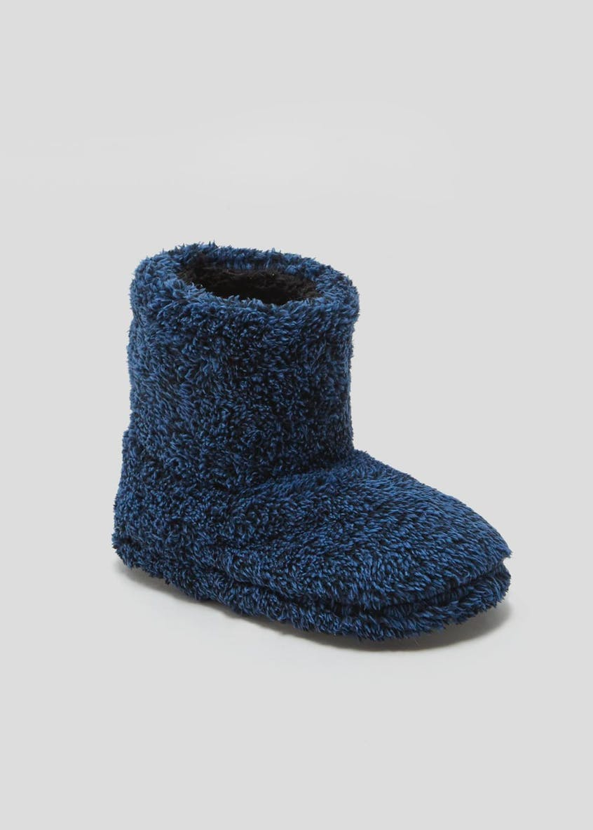 Boys Slipper Boots (Younger 10-Older 6)