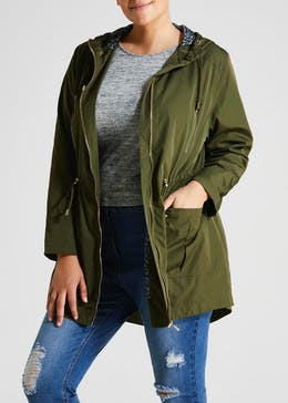 Papaya Curve Lightweight Parka