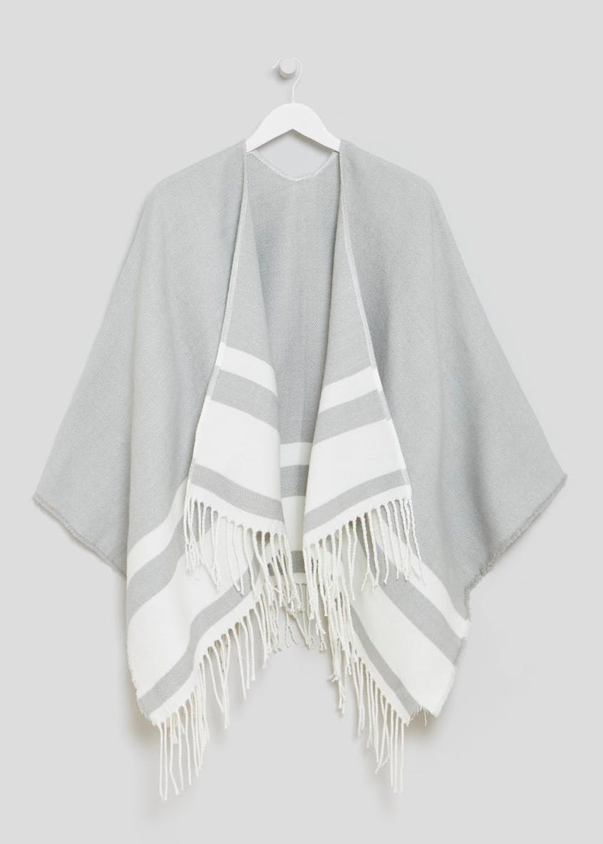 Edge Detail Lightweight Poncho