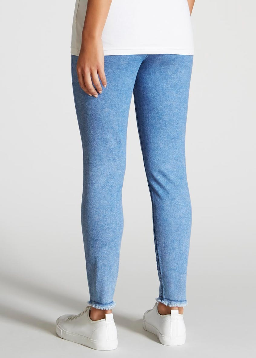 Rosie Abrasion Pull On Jeggings