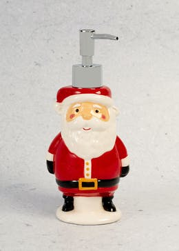 Santa Shaped Christmas Soap Dispenser (21cm x 13cm)