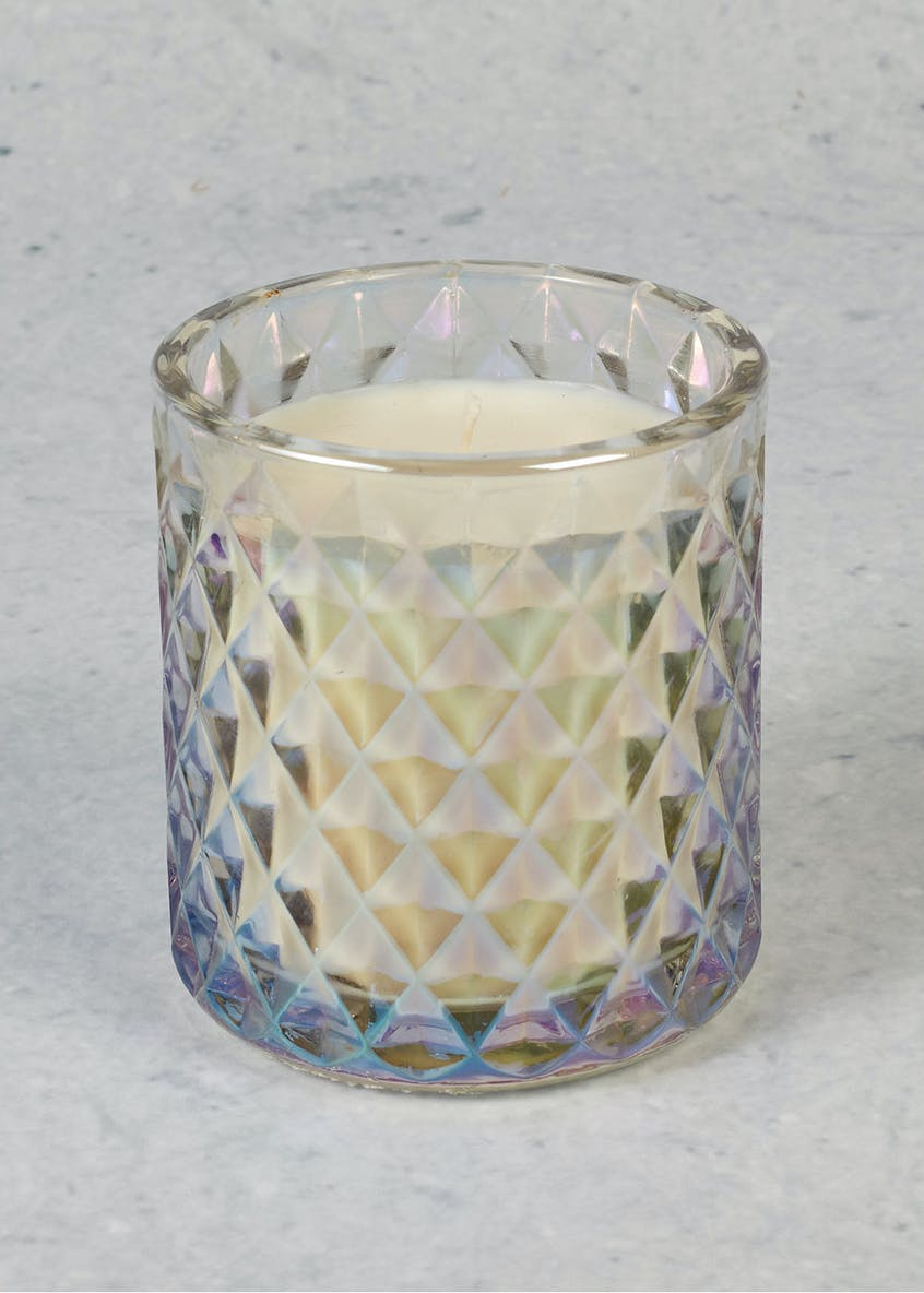 Bergamot & Lemon Iridescent Christmas Candle
