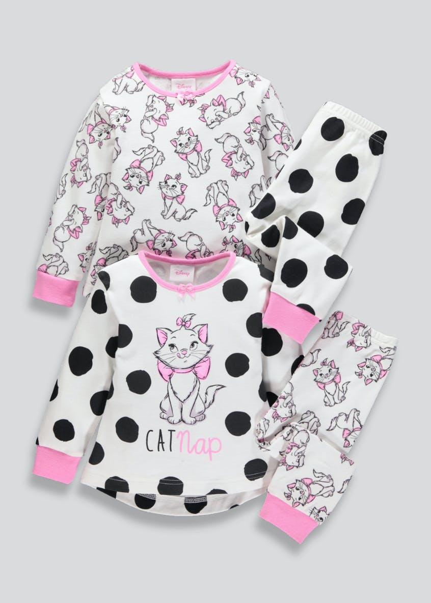 Kids Disney The Aristocats Marie Pyjamas (3mths-6yrs)