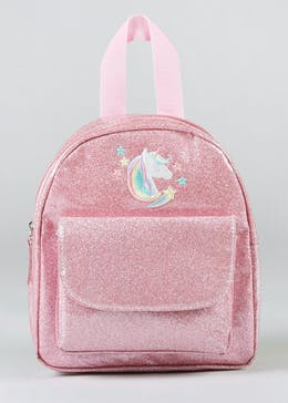 Kids Unicorn Glitter Backpack