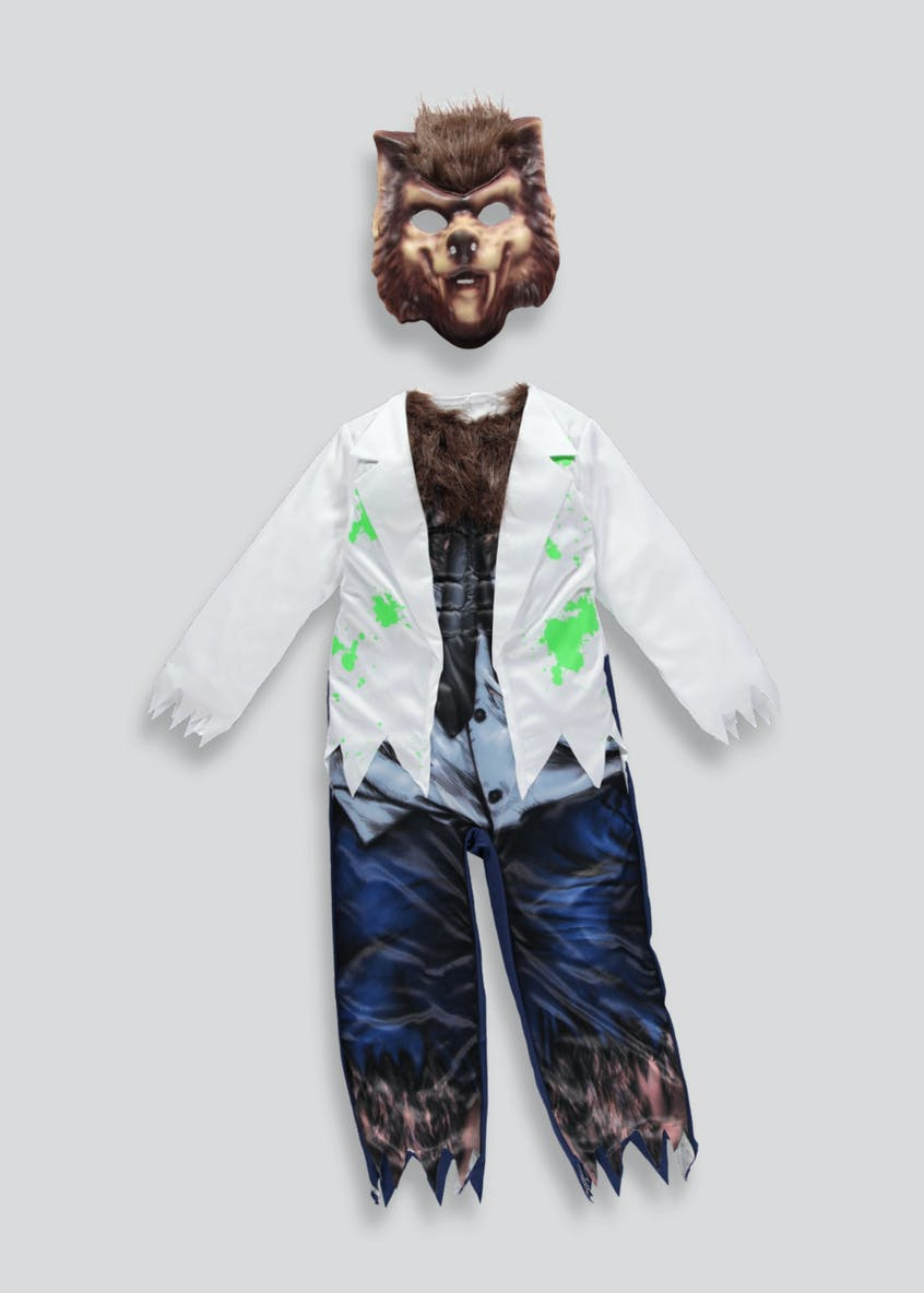 Kids Werewolf Halloween Costume (3-11yrs)