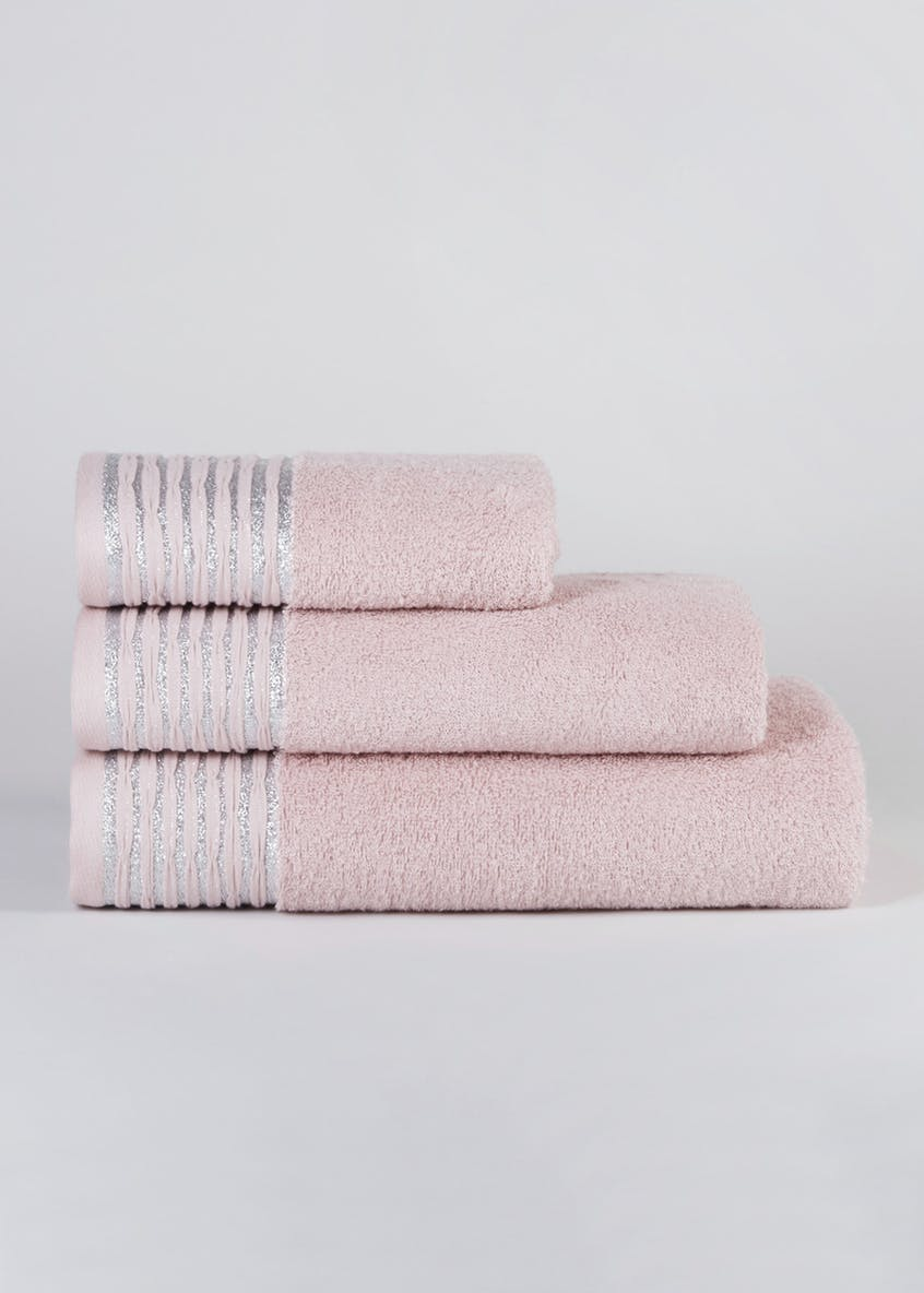 Sparkle Border Towels