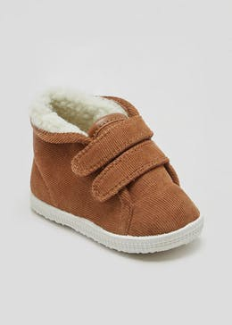 Unisex Soft Sole Pre-Walker Cord Boots (Newborn-18mths)