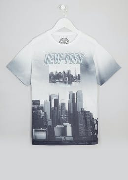 Boys New York Printed T-Shirt (9-16yrs)
