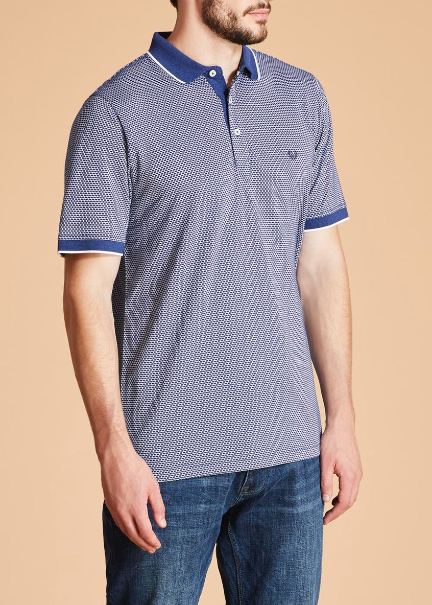 Lincoln Honeycomb Polo Shirt