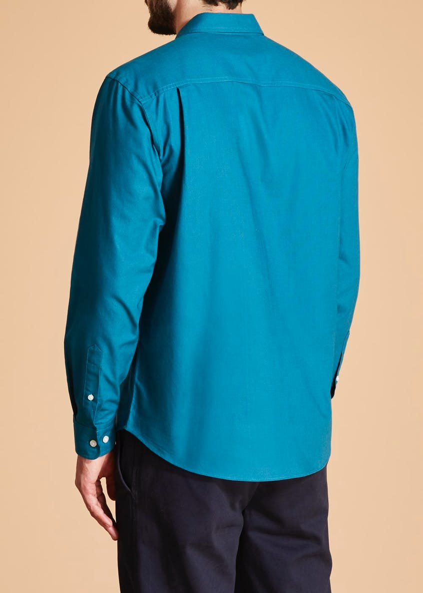 Lincoln Long Sleeve Oxford Shirt