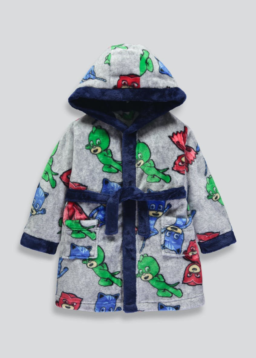 Kids PJ Masks Dressing Gown (2-7yrs)