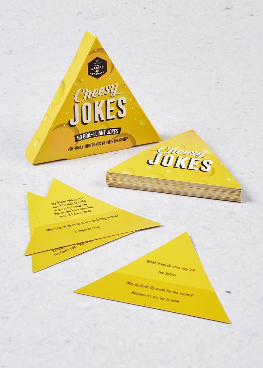 Cheesy Joke Cards (13cm x 11cm x 2cm)