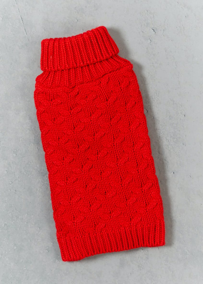 Roll Neck Christmas Pet Jumper (Small-Large)