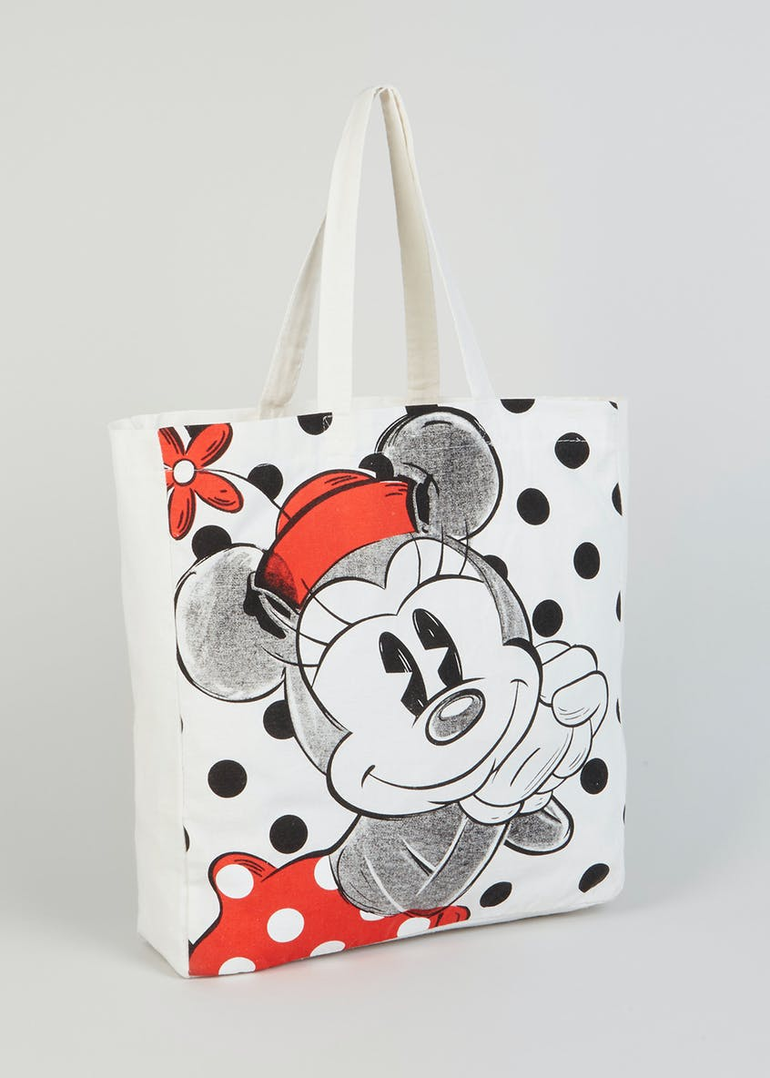 Disney Minnie Mouse Canvas Tote Bag
