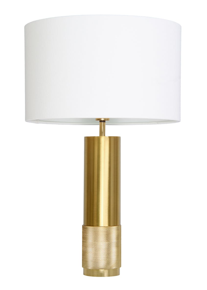 Jenson Metal Table Lamp (H51cm x W32cm)
